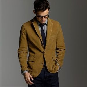 J.Crew Vintage Cord Mens Brown Corduroy Jacket